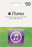 Apple - $50 iTunes Gift Card