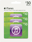 Apple® - $10 iTunes Gift Cards (3-Pack)