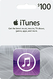 Apple - $100 iTunes Gift Card