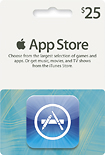 Apple - $25 App Store Gift Card