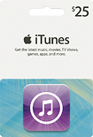 Apple - $25 iTunes Gift Card