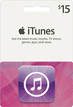 Apple - $15 iTunes Gift Card