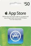 Apple® - $50 App Store Gift Card