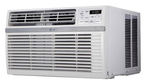 LG - 15,000 BTU Window Air Conditioner - White
