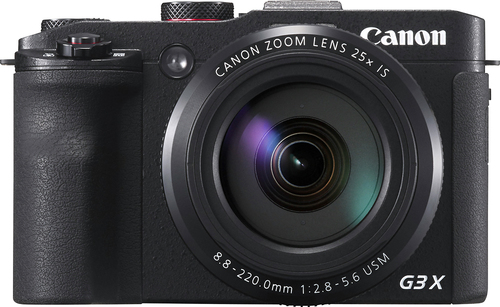 Canon - PowerShot G3 X 20.2-Megapixel Digital Camera - Black