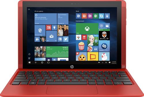 HP - Pavilion x2 - 10.1 - Intel Atom - 32GB - With Keyboard - Sunset Red