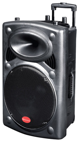 Supersonic - IQ Sound Portable Bluetooth DJ Speaker - Black