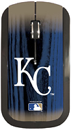 Pangea Brands - Kansas City Royals Wireless Optical Mouse - Blue/Gold