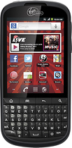 Virgin Mobile - PCD Venture No-Contract Mobile Phone - Black