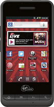 Virgin Mobile - PCD Chaser No-Contract Mobile Phone - Black