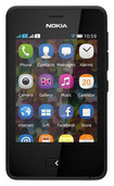 Nokia - Asha 501 Cell Phone (Unlocked) - Black