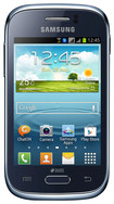 Samsung - Galaxy Young Cell Phone (Unlocked) - Blue
