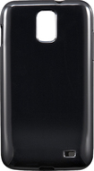 Rocketfish Mobile - Soft Shell Case for Samsung Galaxy S II (AT&T) Mobile Phones - Black