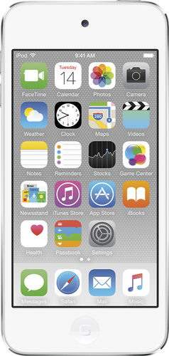 Apple - iPod touch® 64GB MP3 Player (6th Generation - Latest Model) - White/Silver
