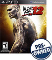 WWE '12 - PRE-OWNED - PlayStation 3