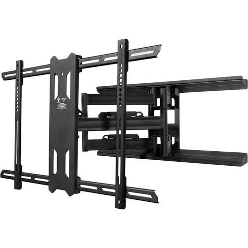 Kanto - Full-Motion TV Wall Mount for Most 39 - 75 Flat-Panel TVs - Extends 24 - Black