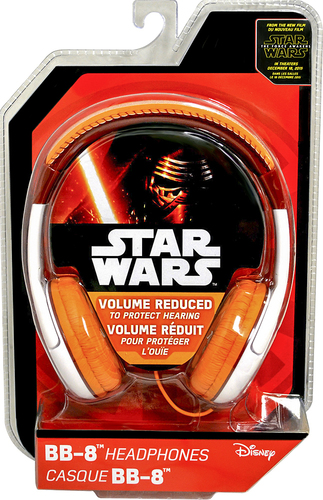 KIDdesigns - Star Wars Episode VII Youth Over-the-Ear Headphones - Blue/White/Pink