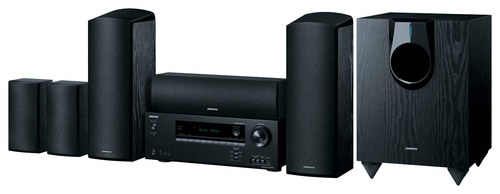 Onkyo - 925W Home Theater System - Black