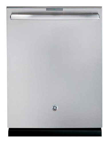 GE - Profile Series 24 Top Control Tall Tub Built-In Dishwasher with Stainless Steel (Silver) Tub - Stainless Steel