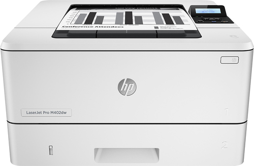 HP - LaserJet Pro m402dw Wireless Black-and-White Printer - Gray