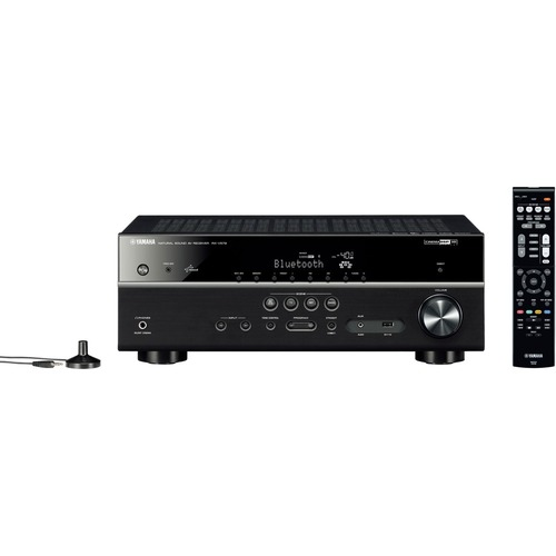 Yamaha - 980W 7.2-Ch. Network-Ready 4K Ultra HD and 3D Pass-Through A/V Home Theater Receiver - Black