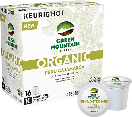 Keurig - Green Mountain Organic Peru Cajamarca K-Cups (16-Pack) - Multi