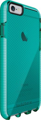 Tech21 - EVO Case for Apple® iPhone® 6 Plus - Aqua/White (Blue/White)