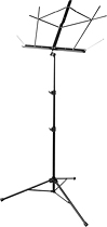 On Stage Sheet Music Stand Black