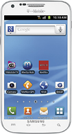 Samsung - Galaxy S II 4G Mobile Phone - White (T-Mobile)