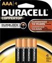 Buy Duracell AAA Batteries (4-Pack)