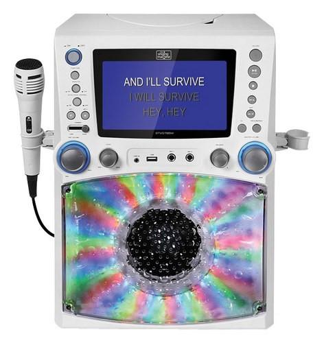 Singing Machine - Cd+g Karaoke System - White