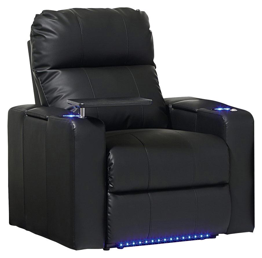 Octane Seating - Turbo XL700 Manual Recliner - Black