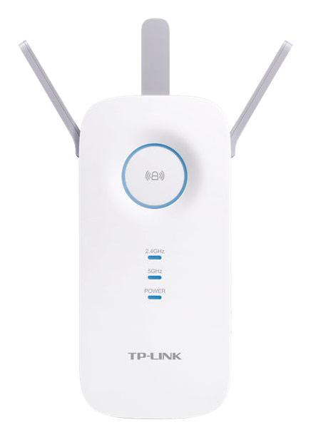 TP-Link - AC1750 Gigabit Wi-Fi Range Extender - White