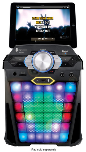 Singing Machine - Vibe HD Digital Karaoke System - Black