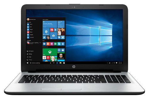 HP - 15.6 Touch-Screen Laptop - AMD A6-Series - 4GB Memory - 500GB Hard Drive - White/Silver