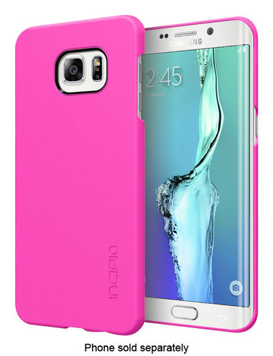 Incipio - feather Snap-On Case for Samsung Galaxy S6 edge Plus Cell Phones - Pink