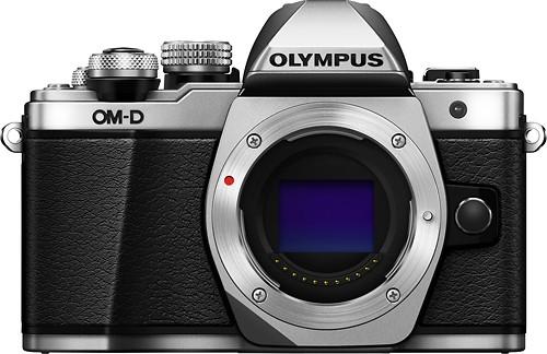 Olympus - OM-D E-M10 Mark II Mirrorless Camera (Body Only) - Silver