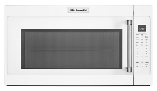 KitchenAid - 2.0 Cu. Ft. Convection Over-the-Range Microwave with Sensor Cooking - White