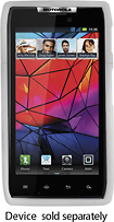 Platinum Series - Case for Motorola DROID RAZR Mobile Phones - White