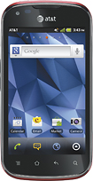 Pantech - Burst 4G Mobile Phone - Red (AT&T)