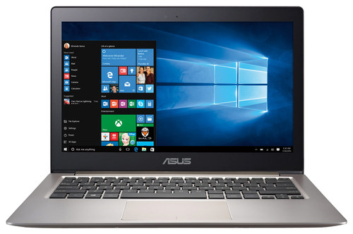 Asus - Zenbook 13.3 Touch-Screen Laptop - Intel Core i5 - 8GB Memory - 256GB Solid State Drive - Smoky Brown