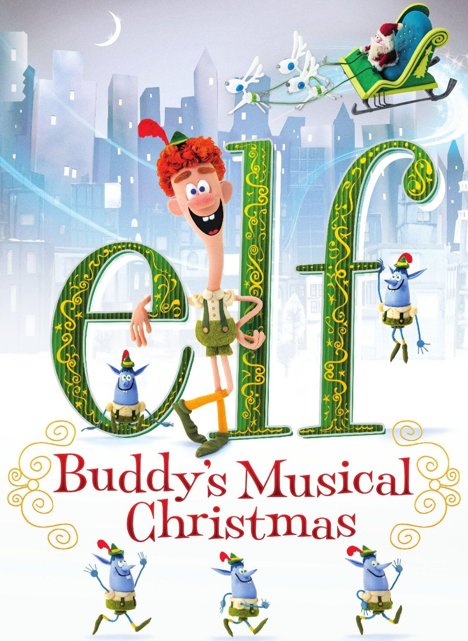 Elf: Buddy's Musical Christmas [dvd] [english] [2014] 4576614