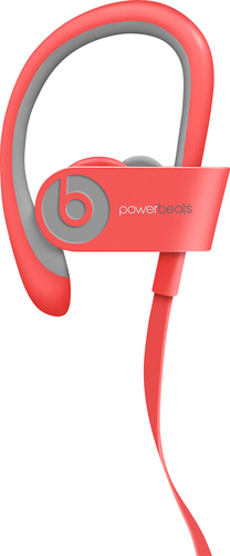 Beats by Dr. Dre - Geek Squad Certified Refurbished Powerbeats² Wireless Headphones - Pink