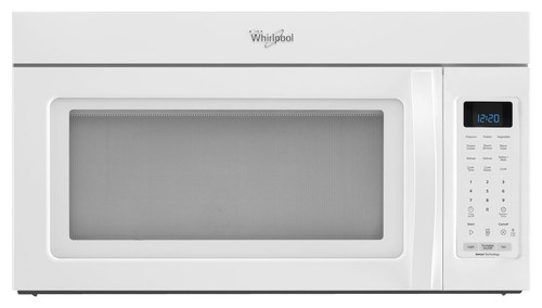 Whirlpool - 1.9 Cu. Ft. Over-the-Range Microwave with Sensor Cooking - White