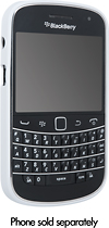 BlackBerry - Soft Shell for BlackBerry Bold 9900 Mobile Phones - White