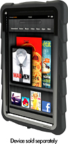 Gumdrop Cases - Drop Tech Series Case for Kindle Fire - Black