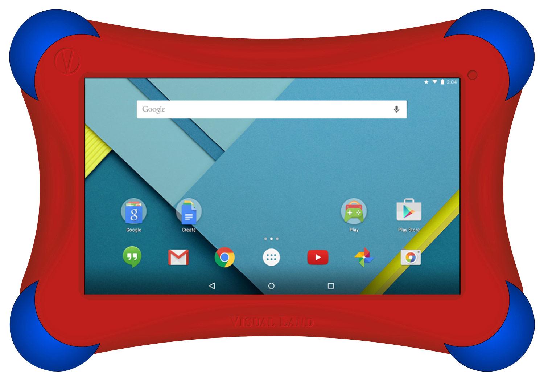 Visual Land - Prestige Elite 7QL - 7 - Tablet - 16GB - Red