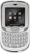 H2O Wireless - Alcatel 356 No-Contract Mobile Phone - Carbon/Chrome