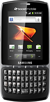 Boost Mobile - Samsung Replenish No-Contract Mobile Phone - Black