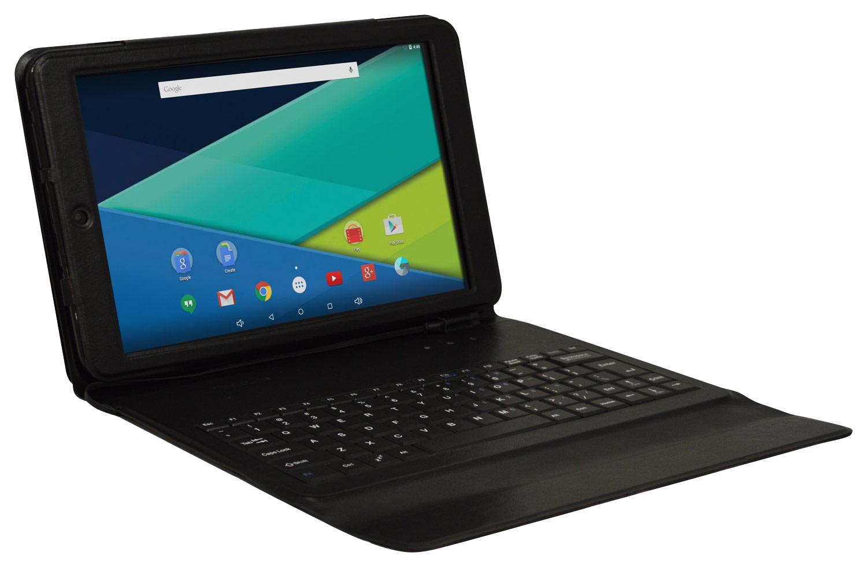 Visual Land - Prestige Elite 10QS - 10.1 - Tablet - 16GB - With Keyboard - Black